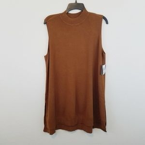 Style & Co Brown Tunic 2X #V219